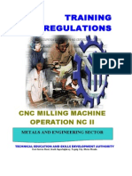 CNC Milling Machine Operation NC II