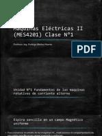 Maquinas Eléctricas II (MES4201) Clase N°1
