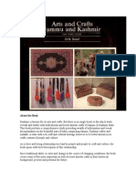 arts and crafts of jummu and kashmir