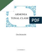Armonia Tonal Clasica - Portada - Luis Robles
