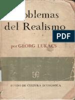 Lukacs Georg - Problemas Del Realismo