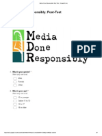 media done responsibly  post-test - google drive