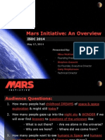 2014 Mars Initiative briefing to ISDC 2014