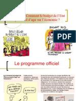 Theme 5 2 Comment Le Budget de l Etat Permet Il d Agir Sur l Economie 2013 2014