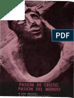 20751070 Boff Leonardo Pasion de Cristo Pasion Del Mundo El Hecho Las Interpretaciones 1977