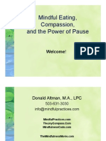 167196667 Mindful Eating Compassion and the Power of Pause PDF