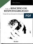 Hans Jonas - El Principio de Responsabilidad