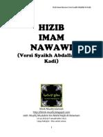 Hizib Nawawi Syaikh Abdallah