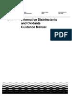 EPA Alternative Disinfectants Guidance