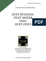 Ruqyah ayat ahzab dan ayat syifa