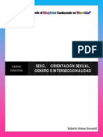 Unidad Didactica_Sexo, Orientación Sexual, Género e Interseccionalidad
