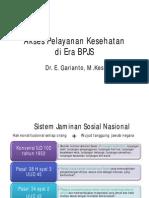Akses Pelayanan Kesehatan Di Era BPJS