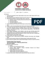 Petunjuk Pengisian Jawaban Assesment Kompetensi