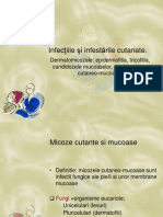 Curs 2 Epidermofitia, Tricofitia Si Dermatomicozele