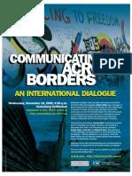 Communicating Across Borders Flier