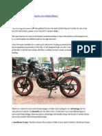 motorcycle frames