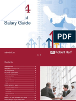 Robert Half Middle East Salary Guide 2014
