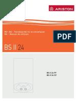 Manual Ariston BS II 24