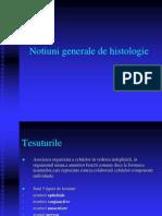 Notiuni Generale de Histologie
