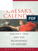Caesar's Calendar- Ancient Time and the Beginnings of History