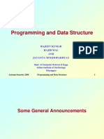 Programming and Data Structure