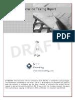 NII Sample PT Report