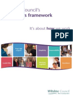 Behaviours Framework Wiltshire Council