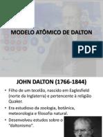 Aula 3 - Modelo Atômico de Dalton - Substâncias Simples e Compostas