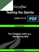 Testing the Spirits