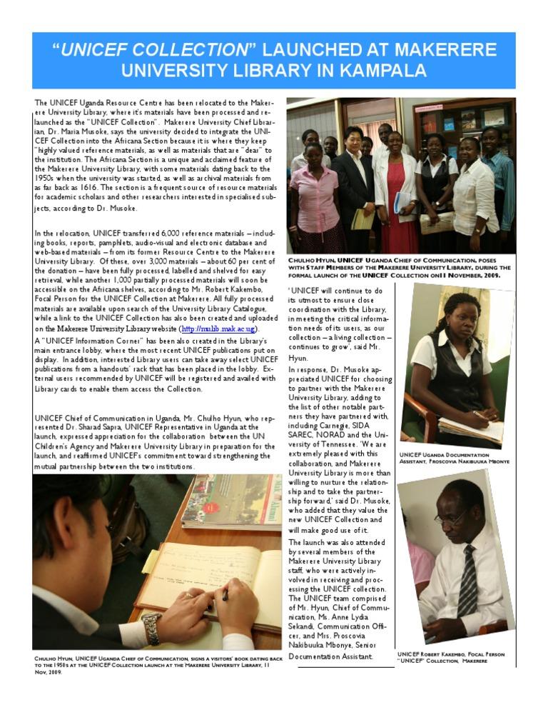 Makerere Universität Dating-Website