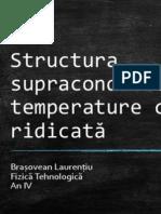 Structura Supraconductorilor Cu Temperature Critică Ridicată
