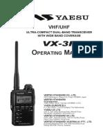 VX 3R Manual