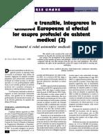 2_Perioada de Tranzitie, Integrarea in Uniunea Europeana Si Efectul Lor Asupra Profesiei de Asistent Medical (2)