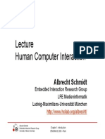 3. Lecture HCI