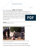 Nick Davies on the Bloody Battle of Genoa _ World News _ the Guardian