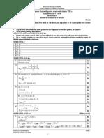 2014GModel en Matematica Barem