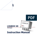 KippZonen Manual Datalogger LOGBOX SD 1012
