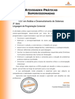 2013 2 CST ADS 3 Linguagem Programacao Comercial