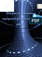 Guía Para Una Comunicación Organizacional Efectiva en Una Entidad Pública Culminado