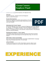 Green Careers Handout