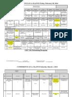 standard 12 wsca schedule