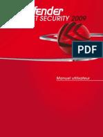 Bit Defender Internet Security 2009-Doc-fr