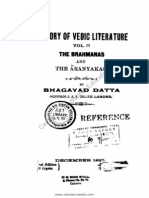 A History of Vedic Literature, Vol. 2