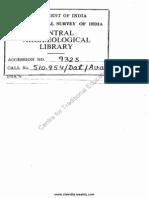 History of Hindu Mathematics a Source Book