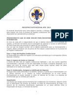 Orientacion Registro Institucional año 2014