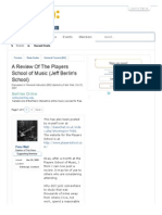 A Review Of The Players School of Music (Jeff Berlin's School) | TalkBass.com
