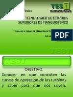 4.2.6 Curvas de Operacion de Turbinas