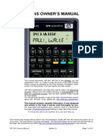 WP34s Calculator Manual