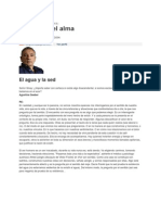 El Agua y La Sed - Sergio Sinay