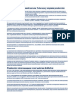 COMIBOL Reactiva Maestranza de Pulacayo y Empieza Producción